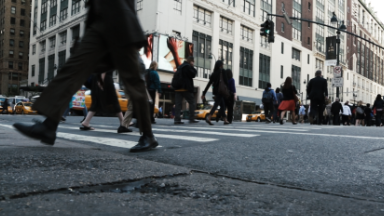NYC turns footsteps into data