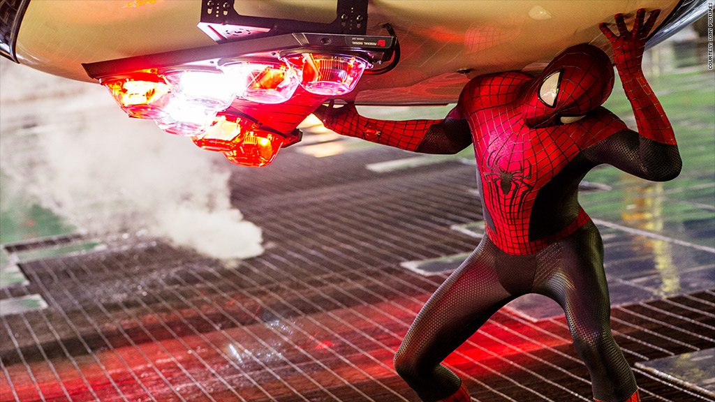 amazing spiderman 2 action