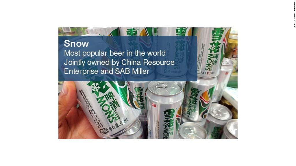 beer snow