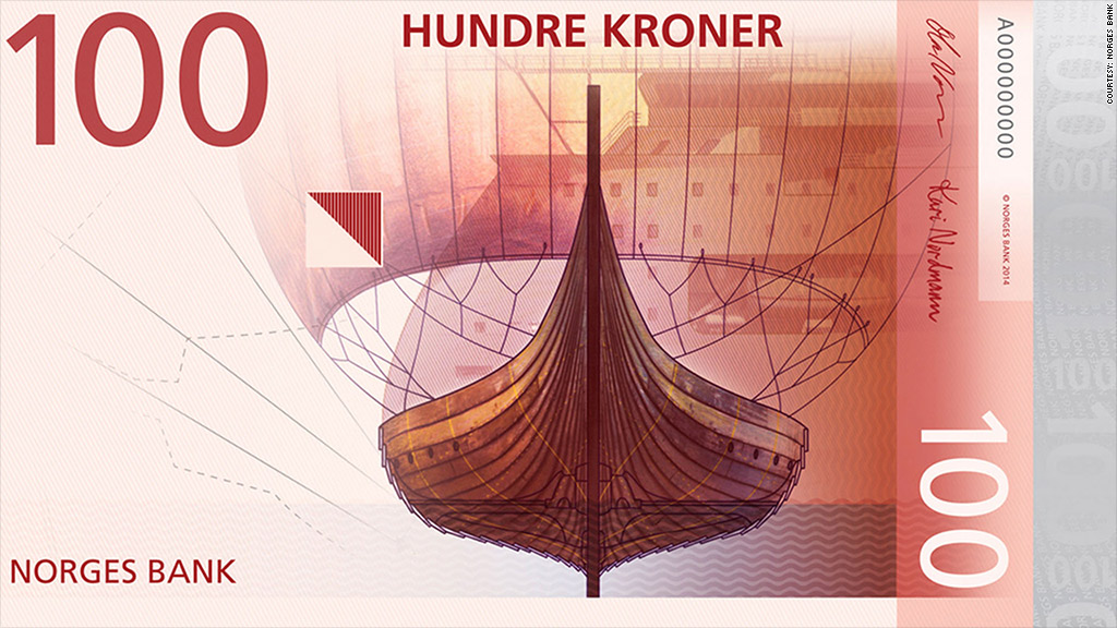 norway currency front