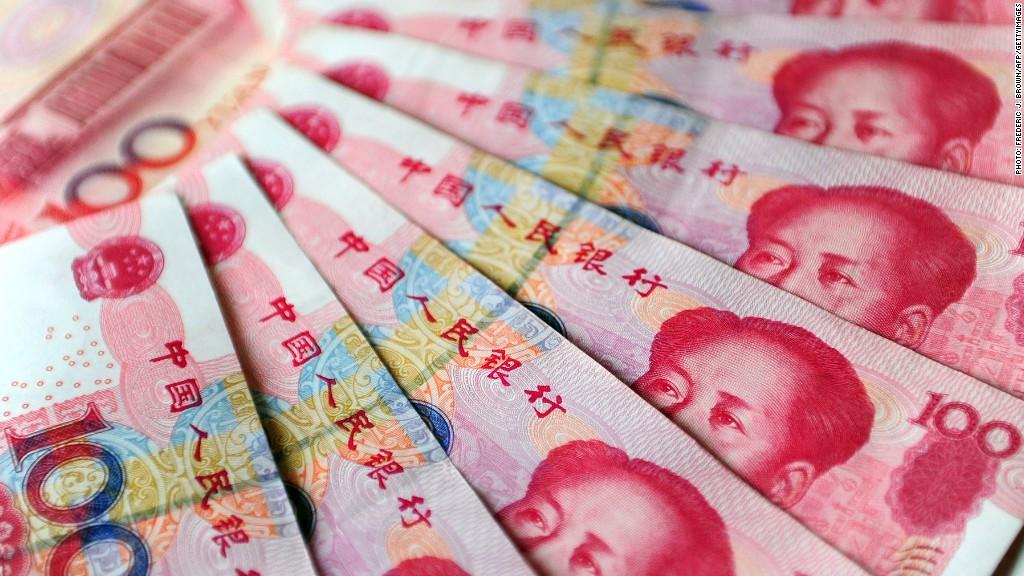 china yuan uk