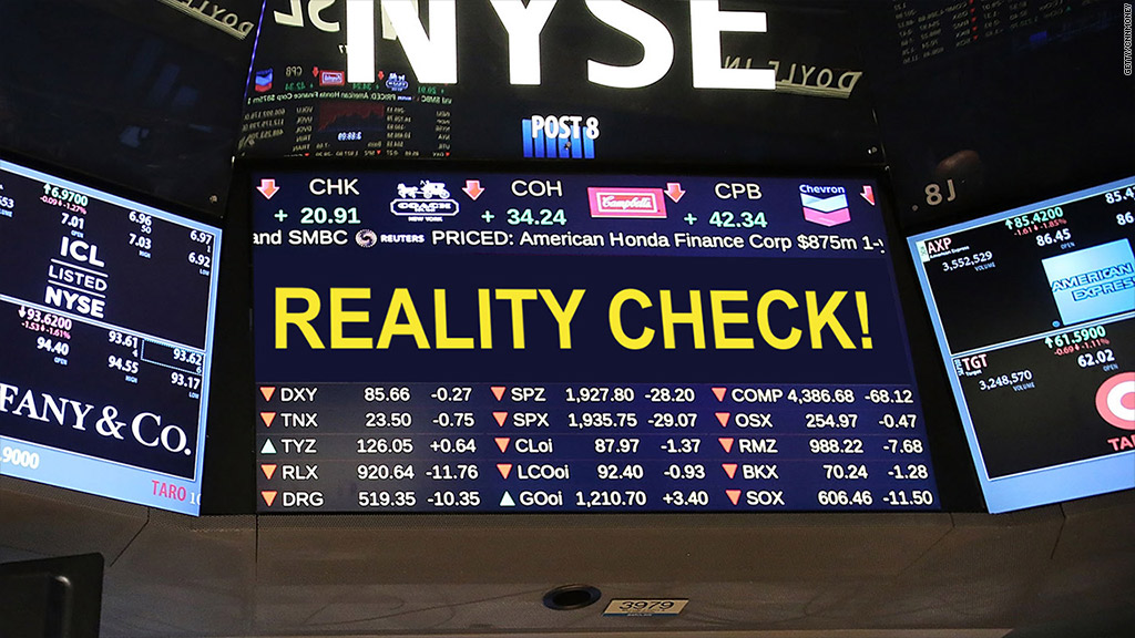 stocks reality check