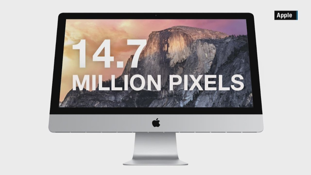 See Apple's new iMac in :60