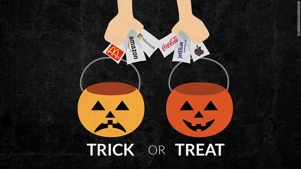trick or treat stocks