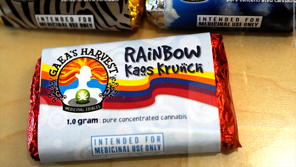 Colorado health officials want to ban marijuana-laced brownies and candy