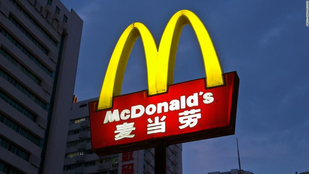 McDonald's Asia food scare