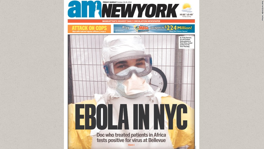 ebola am new york