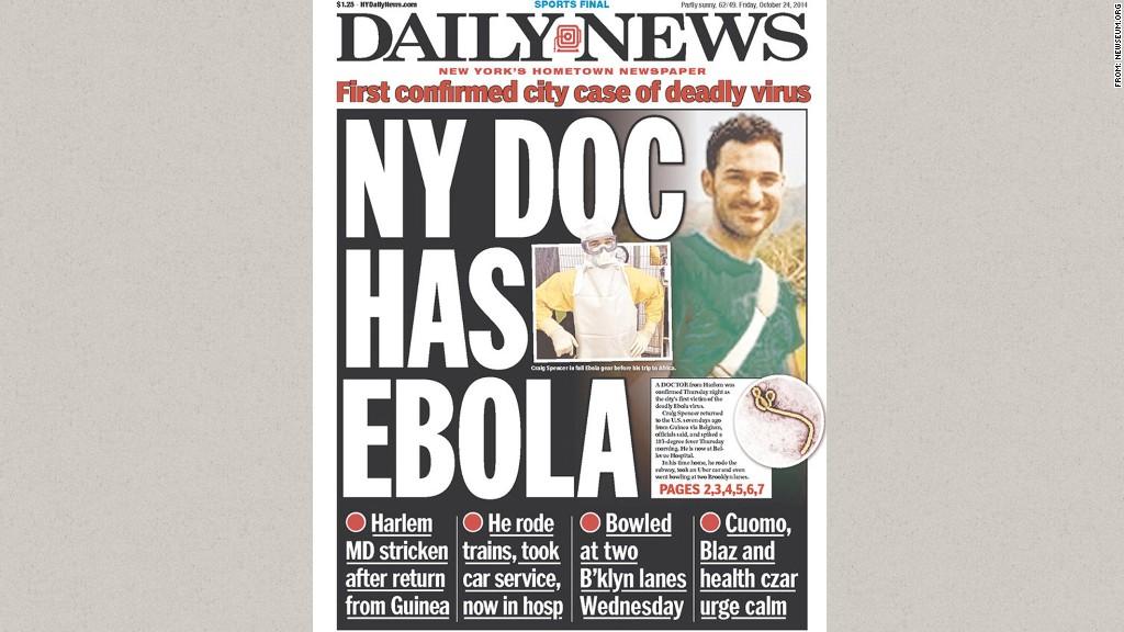 ebola daily news