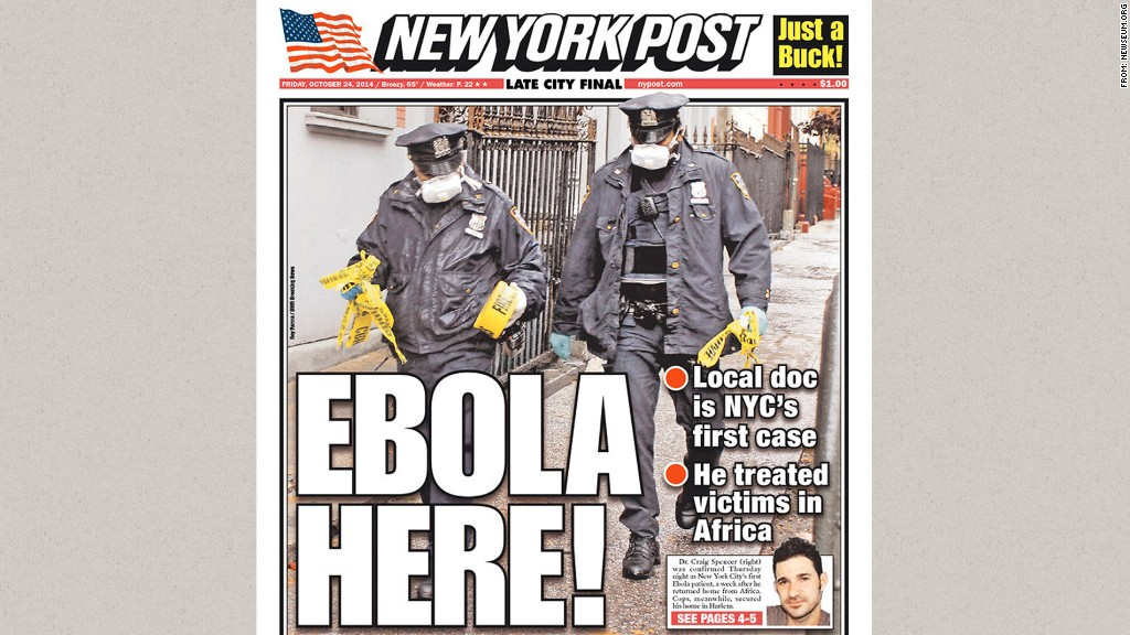ebola new york post