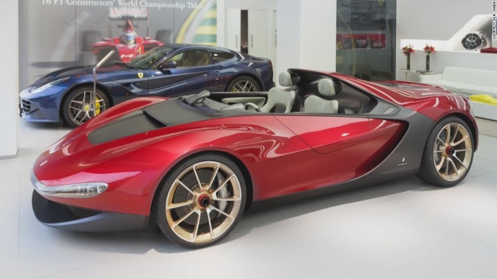 Ferrari's invitation-only supercar
