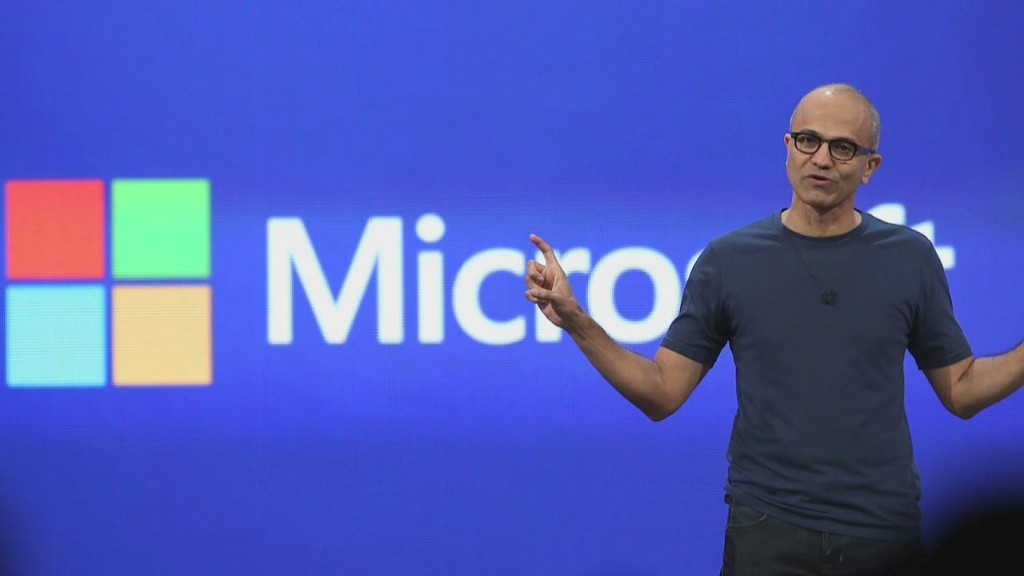 Satya Nadella in 90 seconds