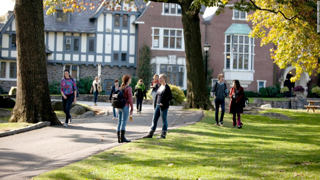 10 most expensive colleges sarah lawrence