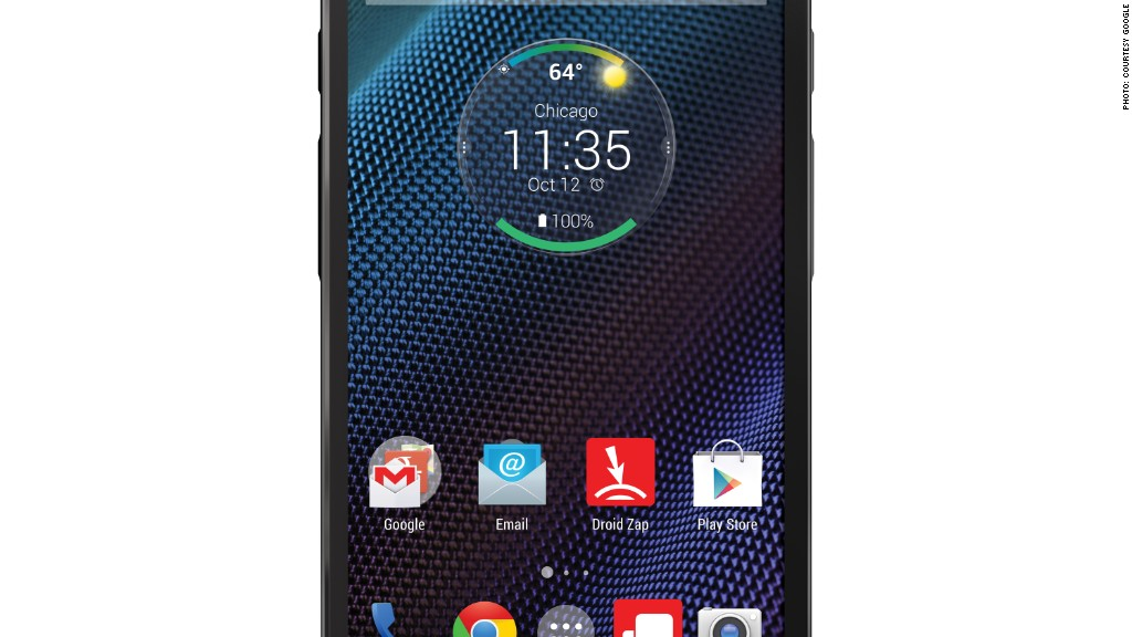 droid turbo screen