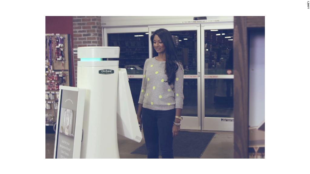 Ho, Ho, Ho: Robot helps holiday shoppers