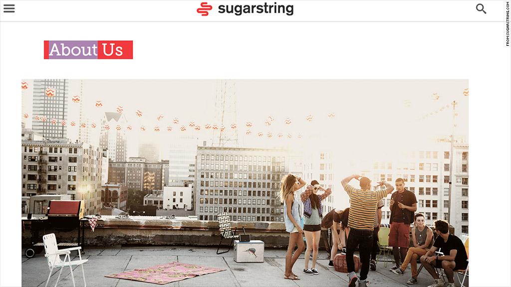 sugarstring homepage
