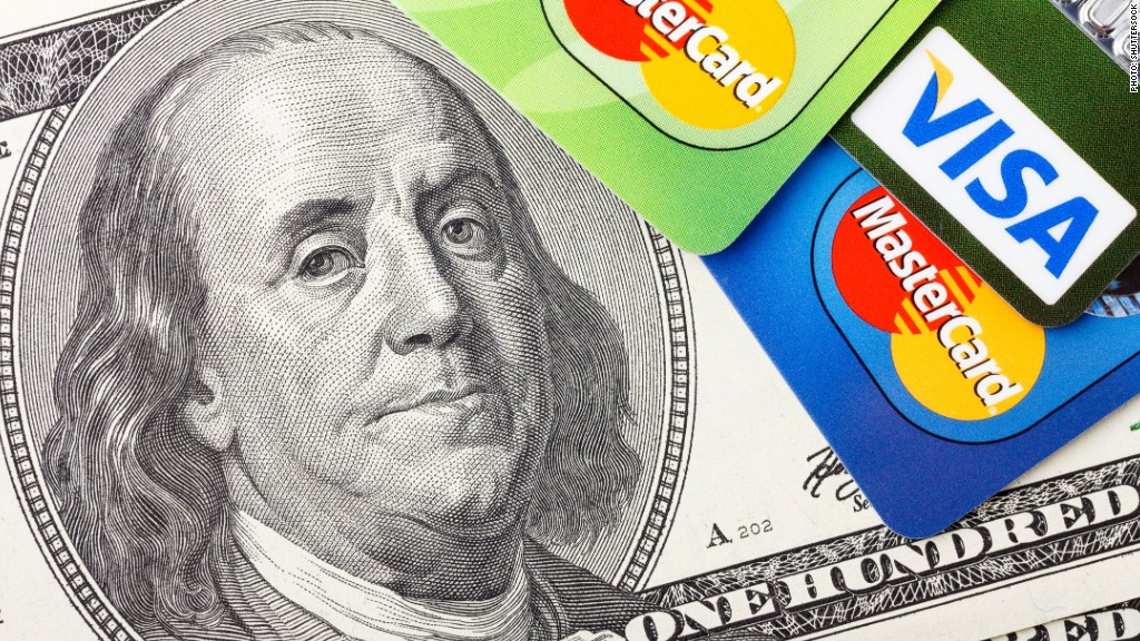 Visa MasterCard earnings consumer spending