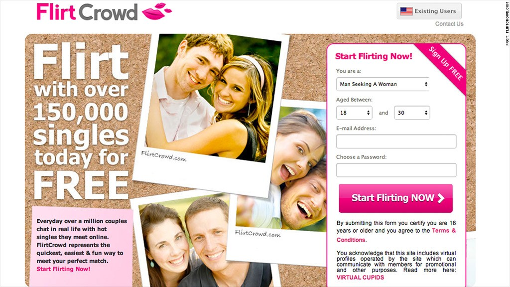 Making a dating website