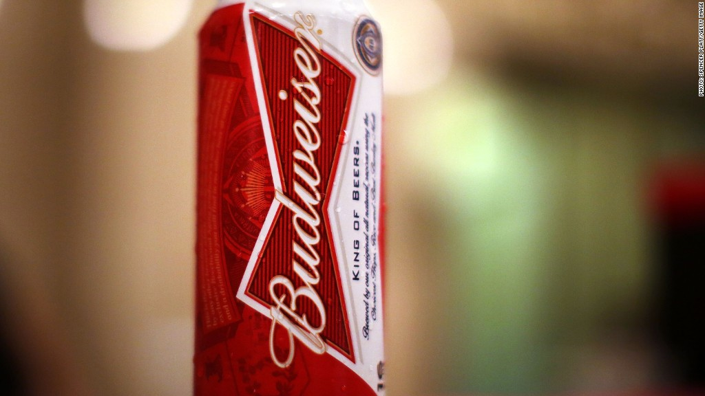 Budweiser brewer Anheuser Busch says Russia hurt profits