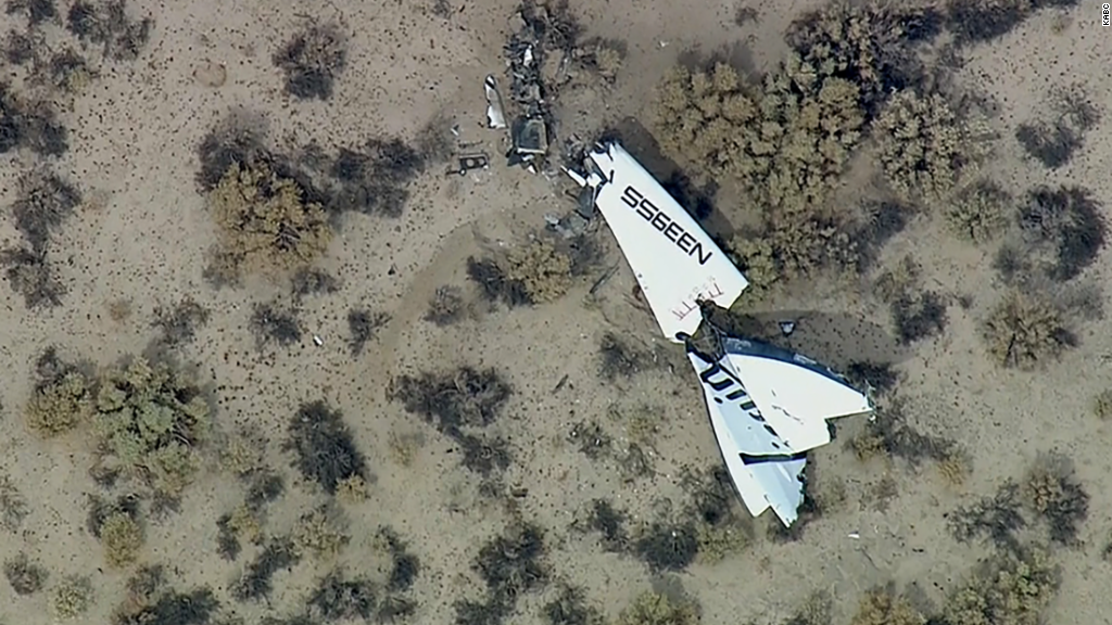 NTSB: Human error caused Virgin Galactic crash