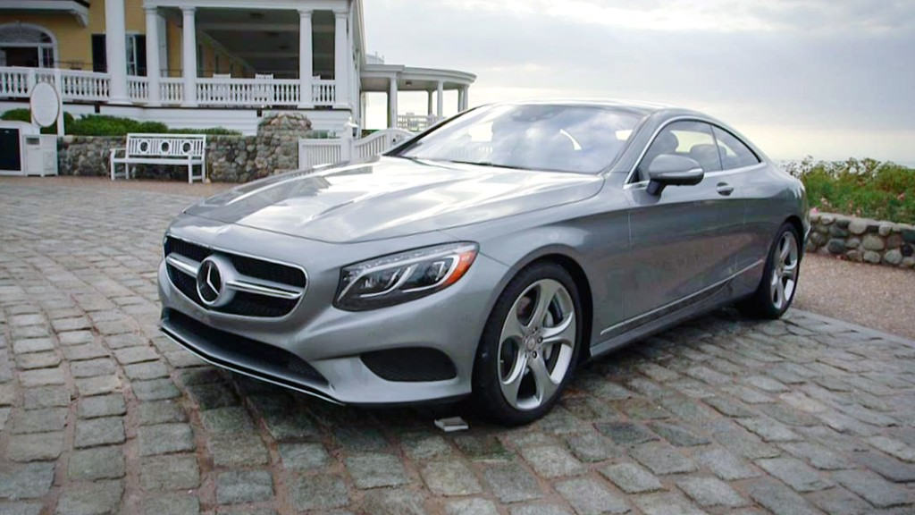Mercedes Coupe: Looks sharp, drives dull