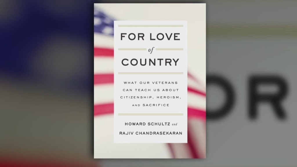 Why Starbucks's CEO wrote a book about veterans