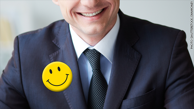 CEOs put on their best smiley face