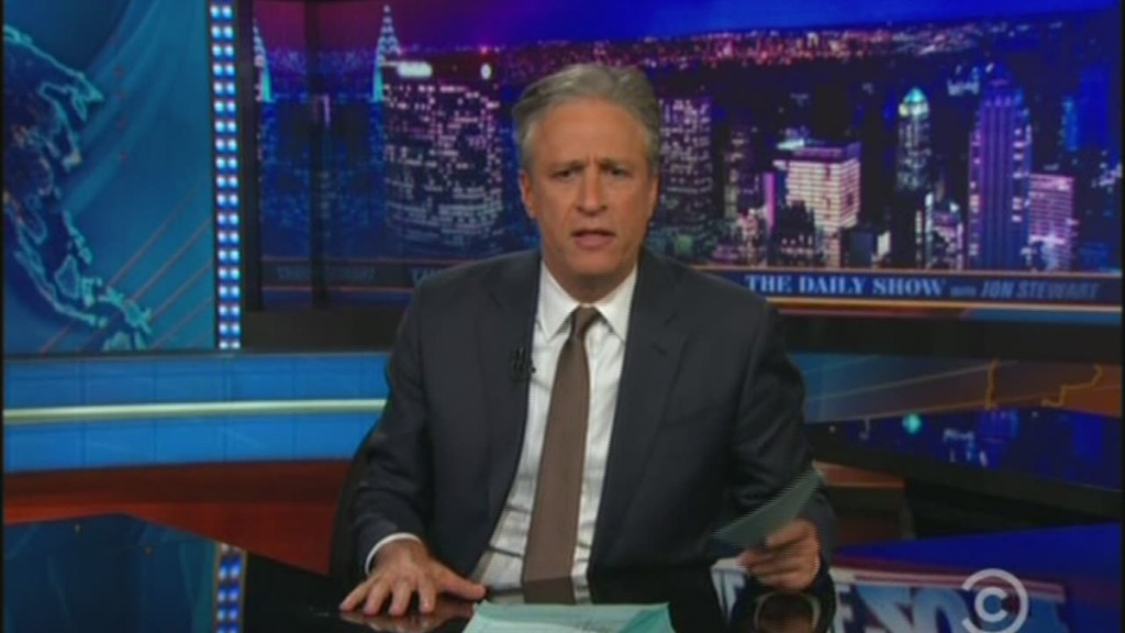 Jon Stewart apologizes for no vote joke