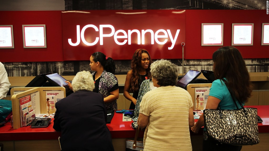 JC Penney shopping