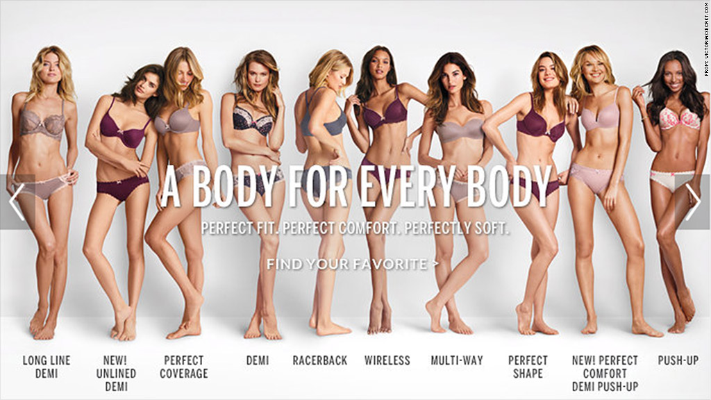 victorias secret perfect body slogan