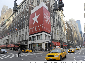 Macy's retail stocks