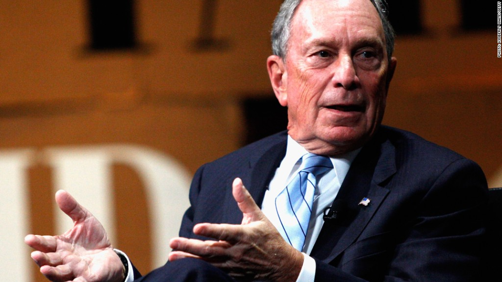 Michael Bloomberg regulation