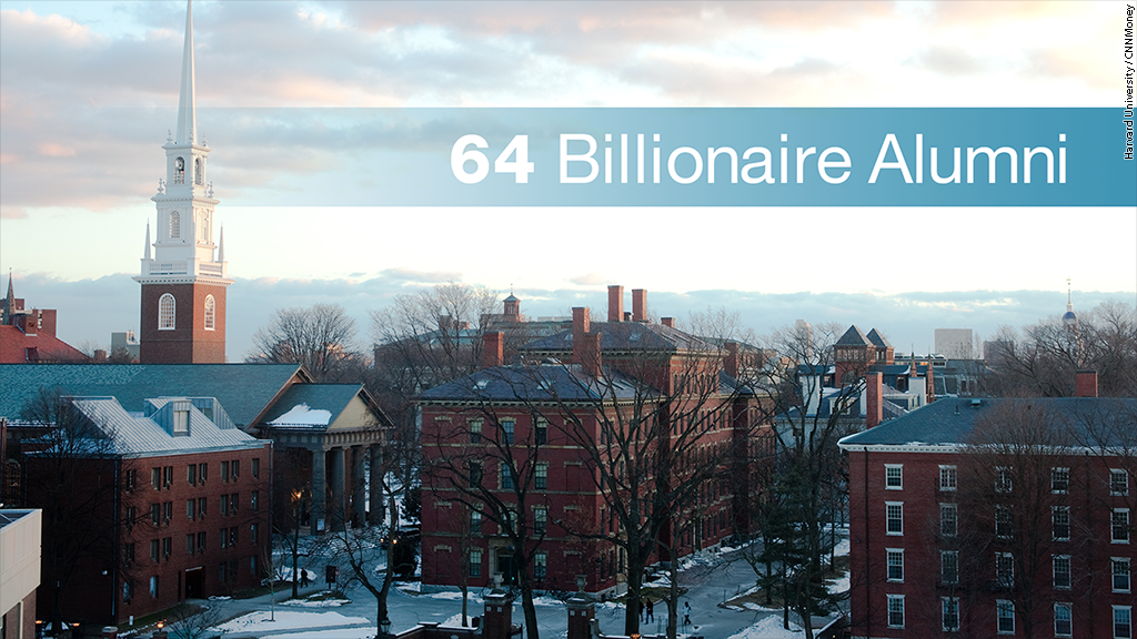 harvard business school billionaires