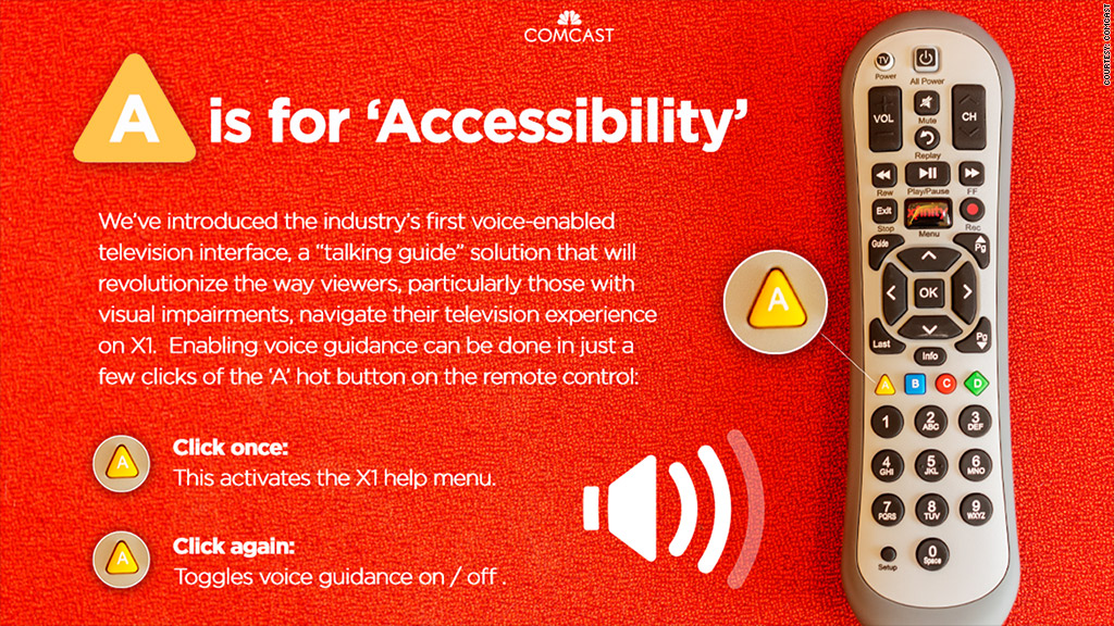 comcast accessibility
