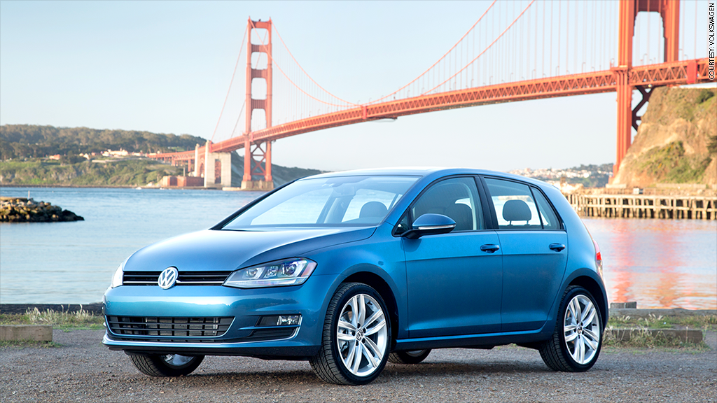 Golf wins North American Car of the Year