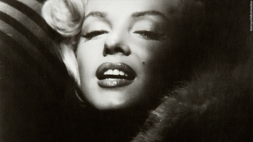 marilyn monroe dimagro auction photo