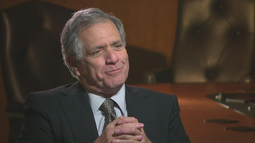 CBS CEO Les Moonves on Netflix, Rivals