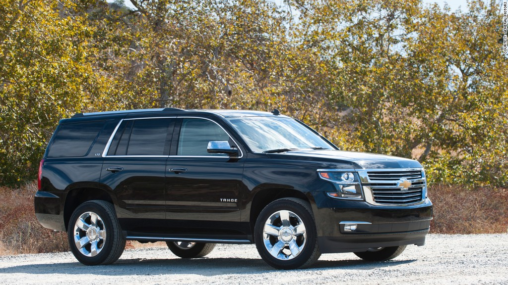 Full-size SUV - Chevrolet Tahoe - Kelley Blue Book names ...