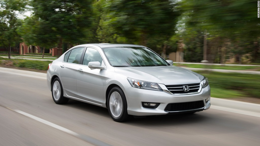 Mid-size Car - Honda Accord - Kelley Blue Book names \