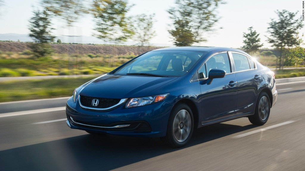 Small car - Honda Civic - Kelley Blue Book names \