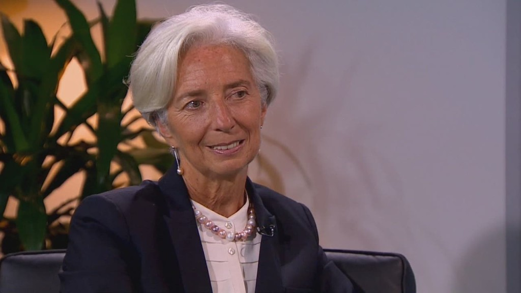 Christine Lagarde on the world economy