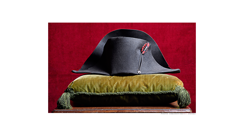 Napoleon's hat sells for $2.4 million