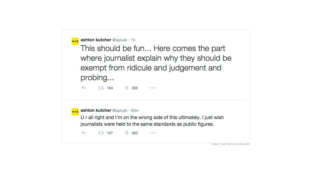 kutcher tweets 5