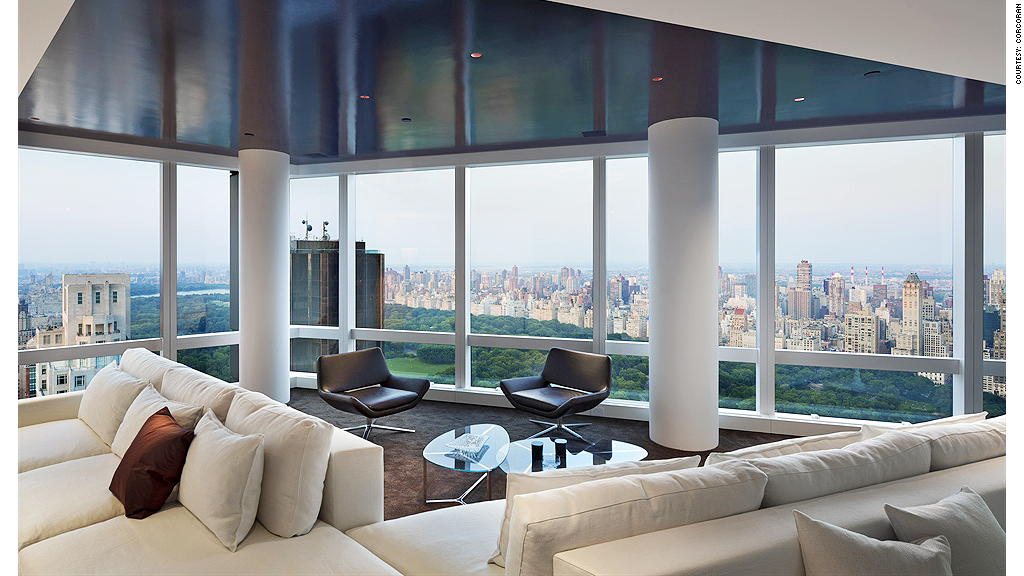 No end in sight for new york 39 s multimillion dollar housing for Penthouses for sale in nyc