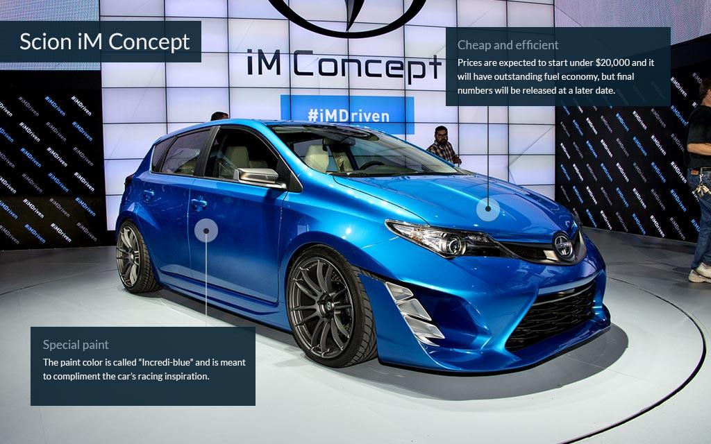 Scion Im Concept Cool Cars From The La Auto Show Cnnmoney