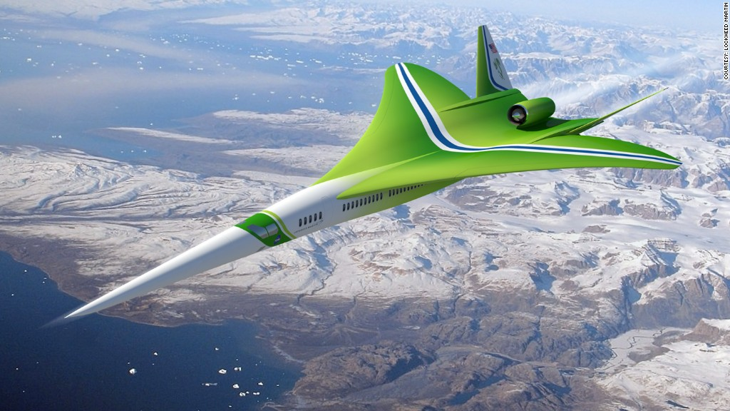 Supersonic jets can fly from New York to L.A. in 2.5 hours (or less)