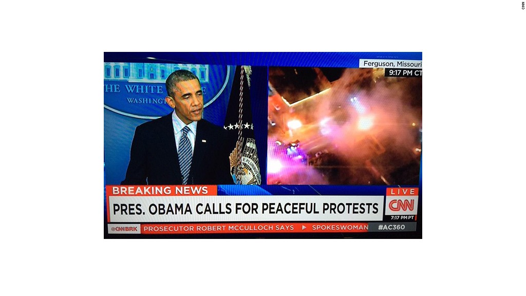 ferguson cnn screen