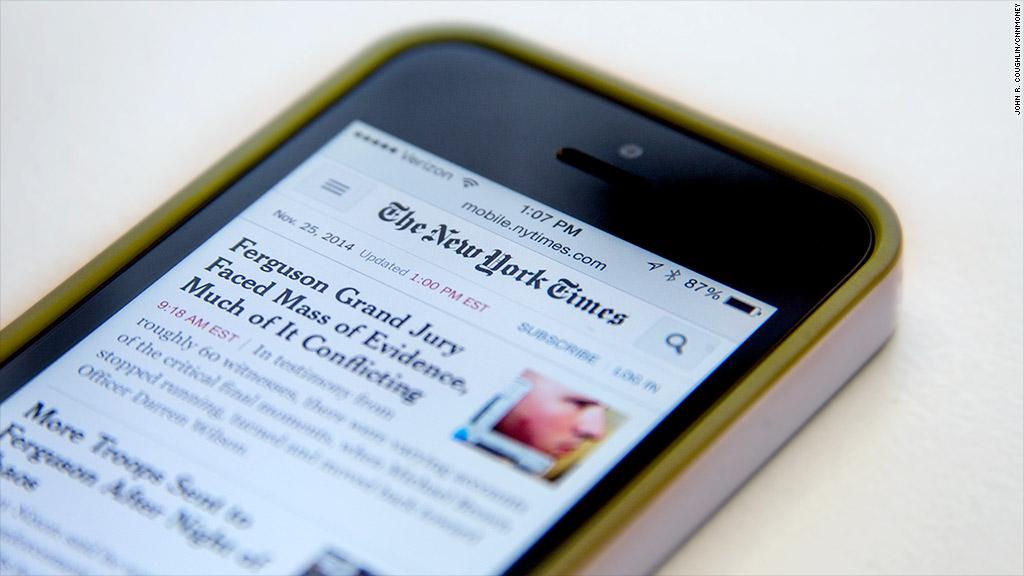 nytimes mobile
