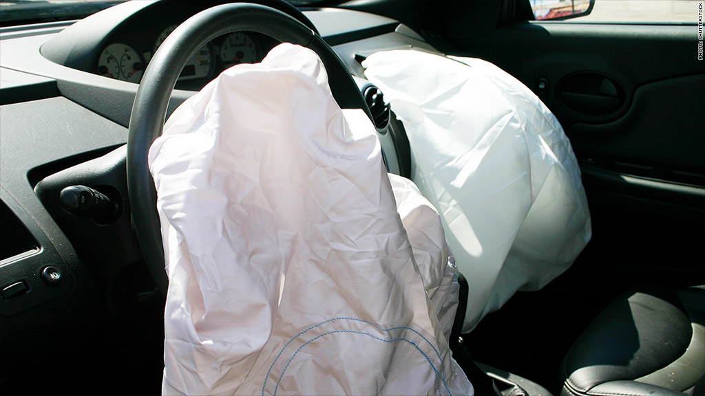 Chrysler airbag recall