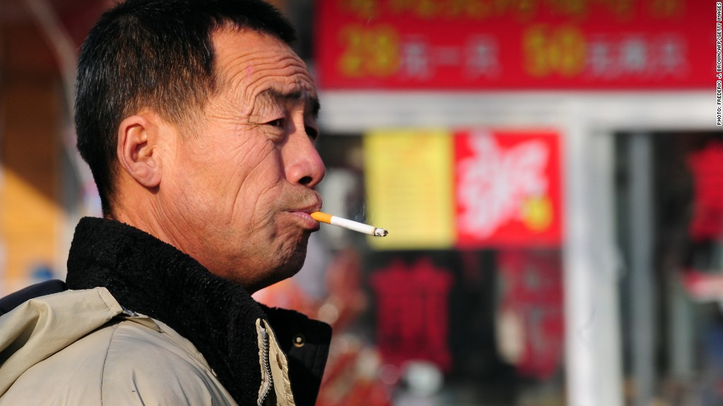 china smoking