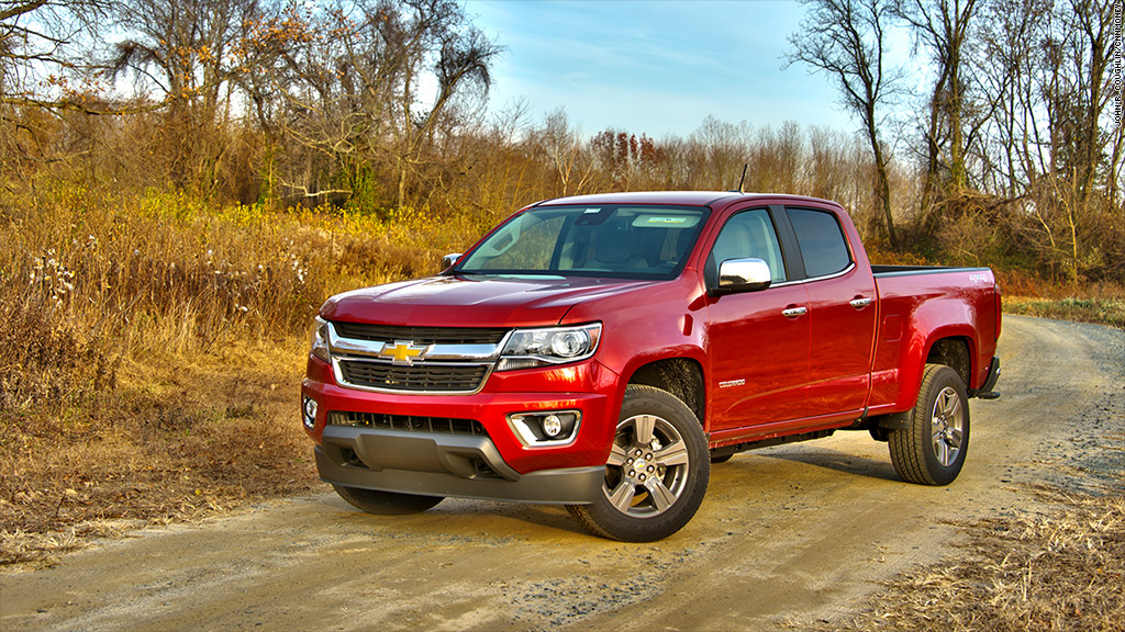 2015 motor trend truck of the year chevrolet colorado